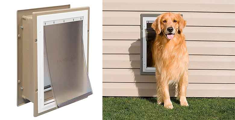 Gatera para instalar en un muro - PetSafe Wall Entry