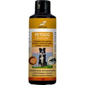 Champú antipulgas, antihongos y antiácaros para perros - Peticare Petdog Health 2014