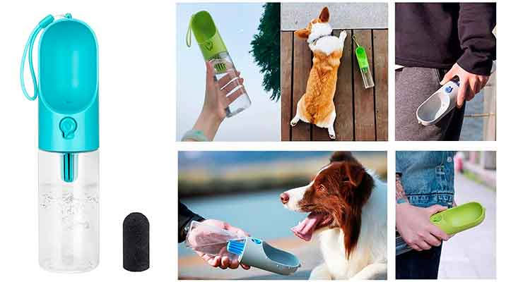Botella de agua para perros - Petkit