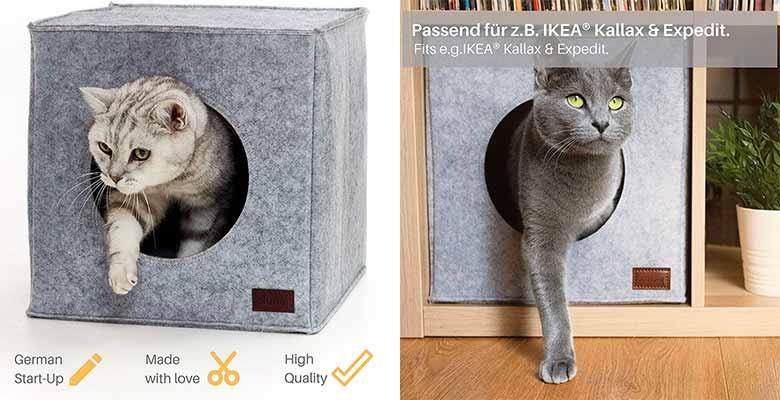 Casa para gatos apta para muebles de IKEA - PiuPet