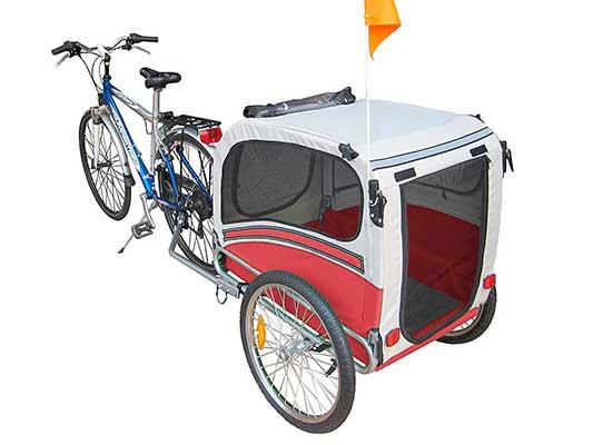 Carro y remolque para llevar perros en bicicleta - Polironeshop Argo