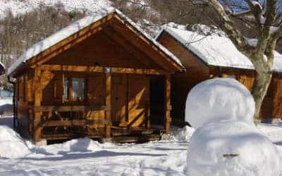 Prado Verde camping para ir con perro en el Pirineo Catalán - Valle de Arán