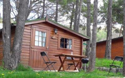 Repòs del Pedraforca camping que acepta perros en el Pirineo Catalán