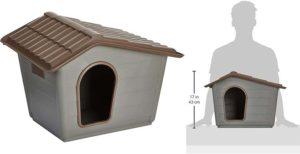 Caseta para gatos fabricada en plástico reciclado - Rosewood Eco