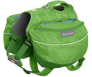 La mejor alforja para perros para senderismo y camping - Ruffwear Approach Pack