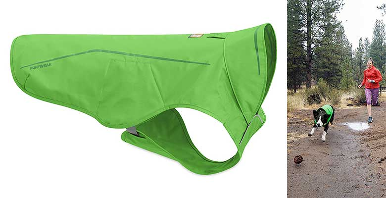 Chubasquero de clima suave y calidad premium para perros - Ruffwear Sun Shower