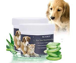Toallitas limpiadoras para ojos de perros y gatos - SCOBUTY