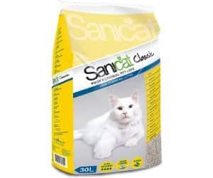 Arena absorbente para gatos - Sanicat Classic