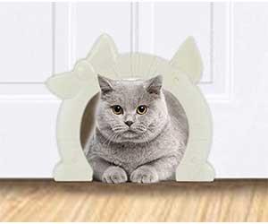 Puerta para gatos especial para uso en interiores - SlowTon