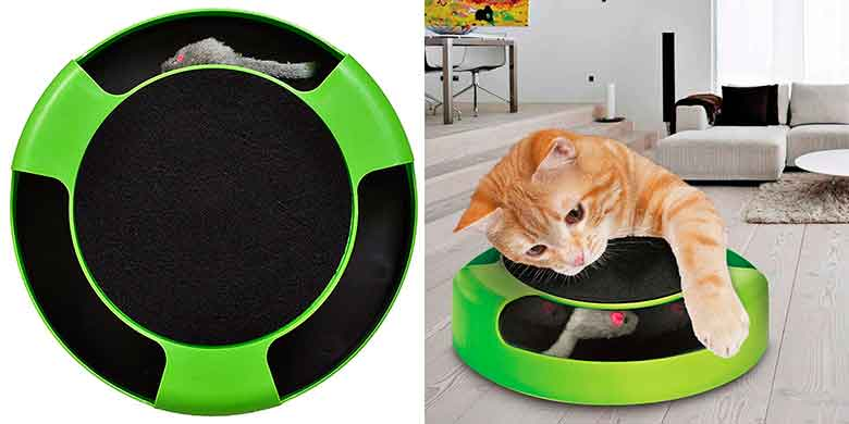 "Juego interactivo de ""gato atrapa al ratón"" - Tech Traders"