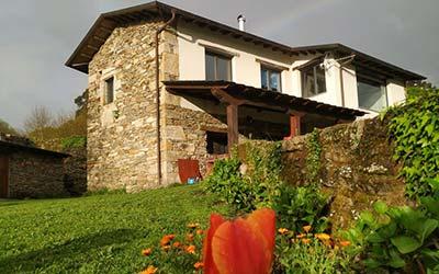 Touron Nº 1 - Casa rural pet friendly en Lugo - Carballedo (Galicia)