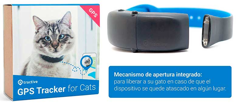 Collar GPS para gatos: Tractive for Cats