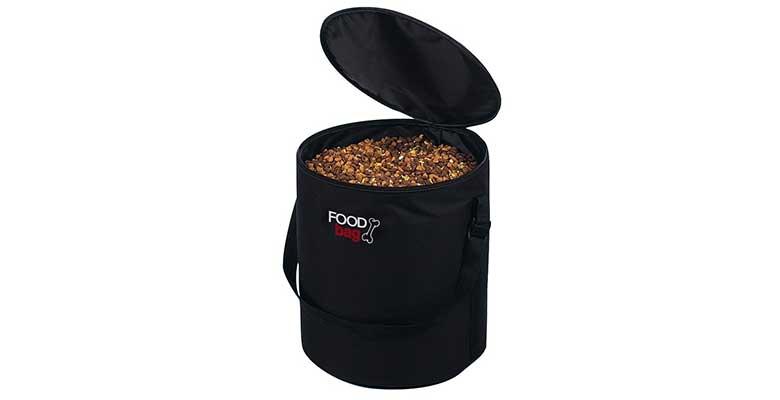 Contenedor de pienso para perros y gatos para viajes largos - Trixie Food Bag
