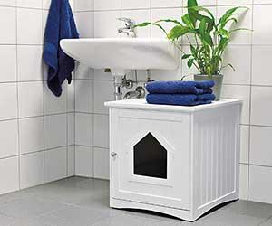 Mueble de baño para el arenero del gato - Trixie