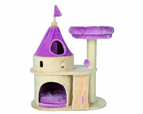 Castillo para gatos con rascador - Trixie My Kitty Darling