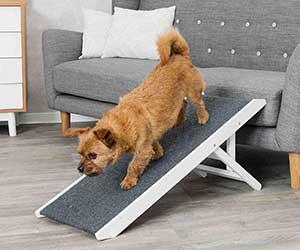 Rampa de altura ajustable para ayudar al perro a subir al sofá o la cama - Trixie