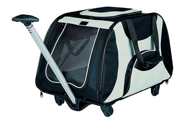 Transportín con ruedas para perros medianos de hasta 21 kg - Trixie