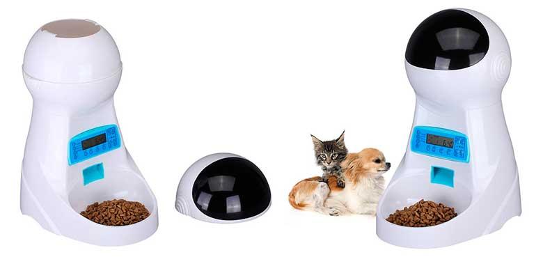 Comedero automático con grabación de voz para perros y gatos - UMEI