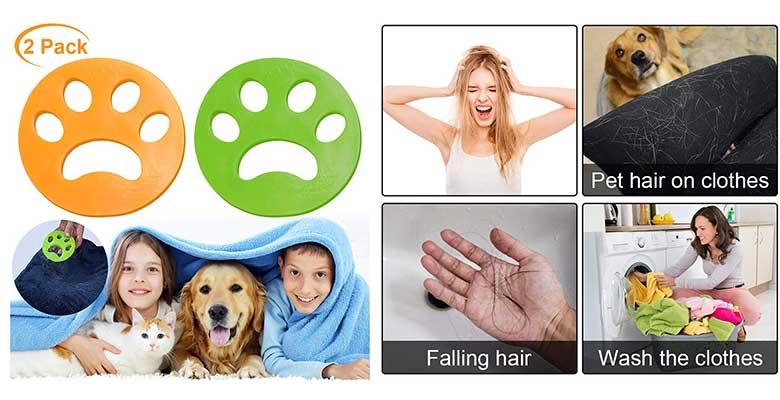 Bolas atrapa pelo de perro y gato para la lavadora - Colmanda