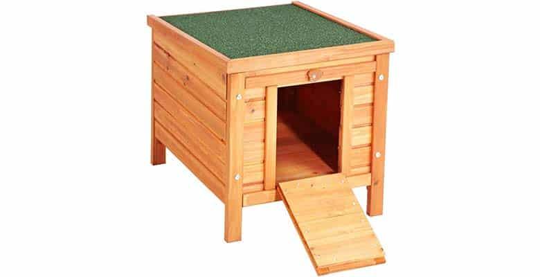 Casa para gatos exterior, barata y de madera - VivaPet
