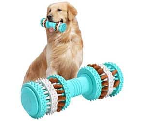 Mordedor interactivo para perros con ranuras dentales - ViviBear