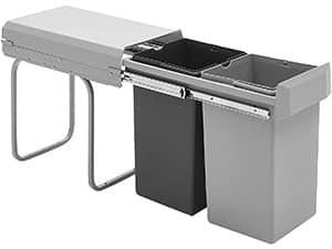 Cubos de basura extraíbles para instalar en un mueble - Wesco
