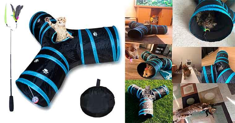 Túnel de juguete para gatos - Wingsky