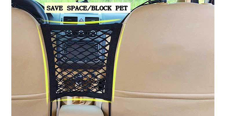 Barrera de seguridad barata para llevar al perro en asiento trasero del coche - Xiaoyu