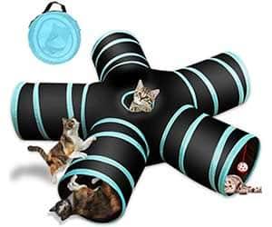 Túnel de juguete para gatos - YAMI