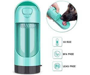 Botella de agua plegable para perros - YOUTHINK