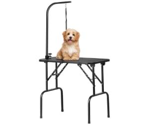 Mesa de peluquería canina plegable y barata - Yaheetech