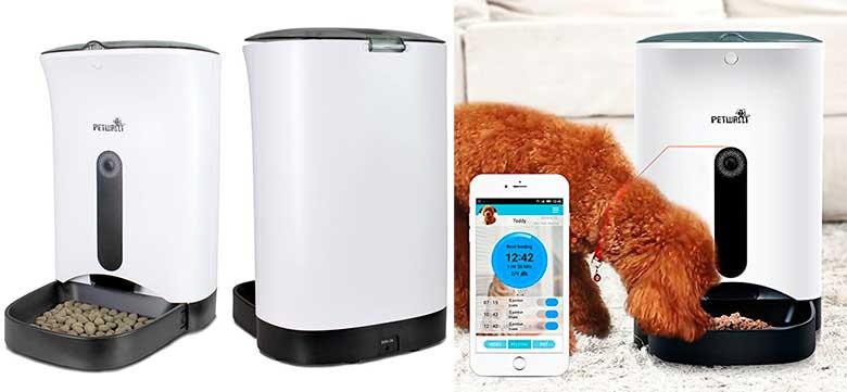 Comedero automático inteligente con cámara y wifi para perros y gatos - Yatek