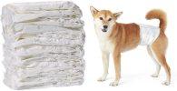 Pañales desechables para perros machos - AmazonBasics