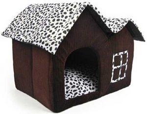 Casa interior para perros (fabricada en tela) - SODIAL