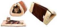Cama 2 en 1 para gatos (túnel y alfombra) - Ardisle