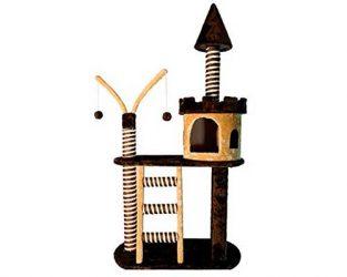 Castillo para gatos con rascador - Arquivet