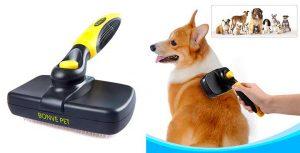 Cepillo tipo carda para perros y gatos - Bonve Pet