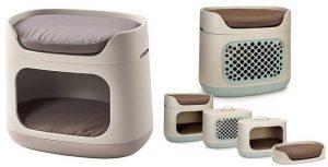 Híbrido de cama y transportín para perros y gatos 2-en-1 - Curver Bunkbed