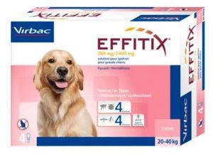 Pipetas Effitix para perros - Antiparasitarias