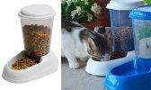 Comedero tipo tolva para gatos y perros   Feplast