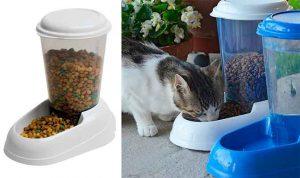 Comedero tipo tolva para gatos y perros | Feplast