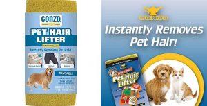 Esponja quita pelos de perro y gato - Gonzo Pet Hair Lifter