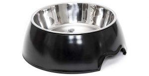 Bebedero antideslizante de acero inoxidable para perros y gatos - Happilax
