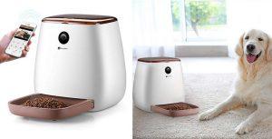 Comedero automático inteligente para perros y gatos con wifi y cámara - Houzetek