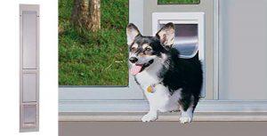 Gatera especial para puertas de cristal correderas - Ideal Pet Products