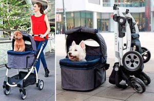 Carrito multifuncional para perros pequeños y medianos - Innopet Buggy Cleo