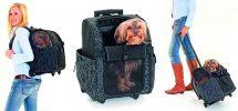 Mochila con ruedas para perros y gatos - Karlie Smart Trolley City