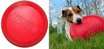 Kong Flyer Classic Rojo - Disco volador para perros adultos