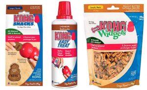Snacks Kong para perros