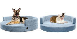 Sofá-cama para perros ortopédico y redondo - Kopeks